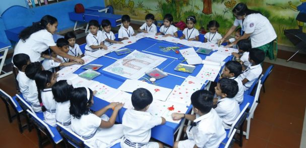 Best-CBSE-School-In-Kerala-KG Experiential Learning – Creative Corner