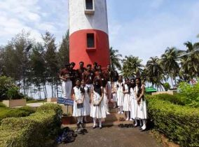 Std XI & XII Science Batch Interdisciplinary field trip – Mangroove forest, Chetuva light house, Zoological museum