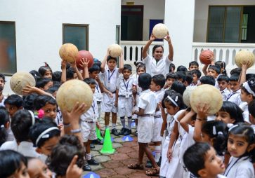KG Experiential Learning – B for Bat and Ball